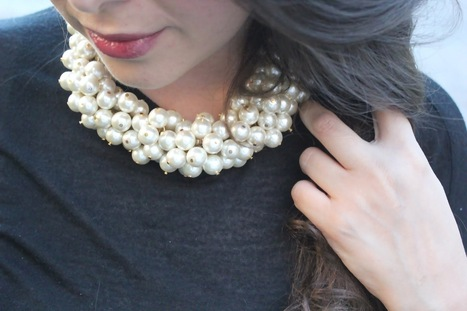 14 Stylish and Sparkly DIY Fashion Project Perfect for Party Outfits ... | Fashion DIY | Scoop.it