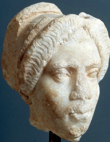 Black Woman with Coiffure in the style of the Trajanic period. | Roma Antiqua | Scoop.it