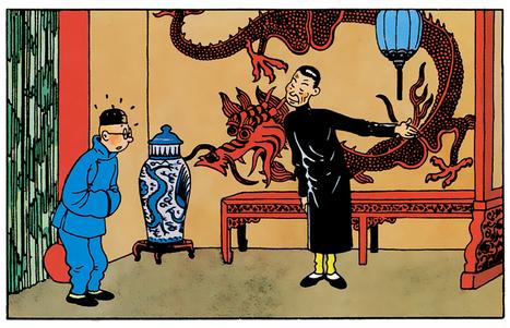 """Tintin revient en feuilleton sur France Culture, avec """"Le Lotus bleu""""   POURQUOI PAS... EN FRANÇAIS ?   Scoop.it"""