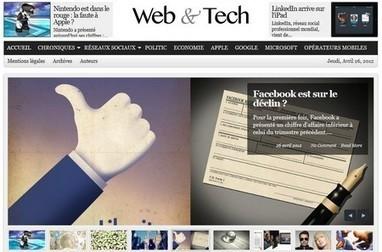 Web&Tech, comme son nom l'indique- Ecrans   Veille sectorielle Agaetis   Scoop.it