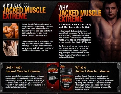 Jacked Muscle Extreme Review - GET FREE TRIAL SUPPLIES LIMITED!!! | Muscle building supplement | Scoop.it