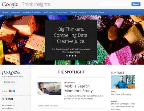 Google unveils powerful marketing tool, Think Insights | MoreMarketing | Scoop.it