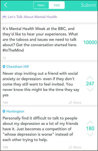 How the BBC used Yik Yak to get young people to talk politics and mental health | Periodismo Global | Scoop.it
