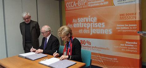 Partenariat entre le CCCA-BTP et l'Agence nationale de lutte contre l'illettrisme | fpc : éducation, emploi, formation | Scoop.it