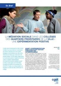 [En Bref #12] La médiation sociale dans les collèges des quartiers prioritaires de la ville : une expérimentation positive | Interculturel, immigration, lutte contre les discriminations : pour une société de diversité | Scoop.it