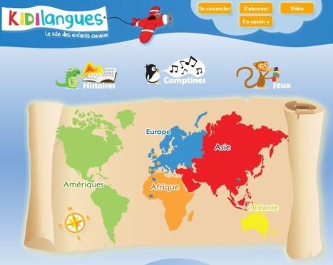 Kidilangues.fr: l'éveil aux langues étrangères ... | éveil aux langues | Scoop.it