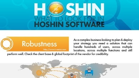 Hoshin Planning software - what to look for - i-nexus | Business Transformation | Scoop.it