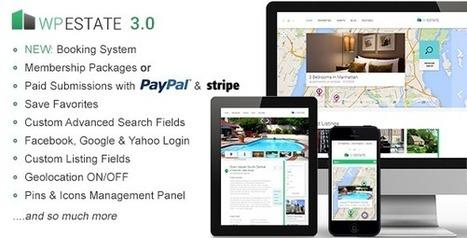 WP Estate v3.0 - Real Estate Responsive WordPress Theme | Wordpress | Scoop.it