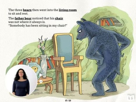 First-ever e-storybooks with sign language | Accessible Educational Materials | Scoop.it
