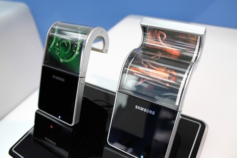 Samsung Thinks It'll Release Flexible OLED Displays Next Year   FutureChronicles   Scoop.it