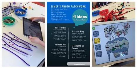 4 ideas to mix materials w iPads in arts learning using Elmer's Photo Patchwork app | Go Go Learning | Scoop.it