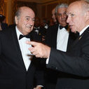 FIFA PRESIDENT SEPP BLATTER CALLS FOR TOUGHER SANCTIONS AGAINST RACISM IN FOOTBALL | Breaking Stereotypes | Scoop.it
