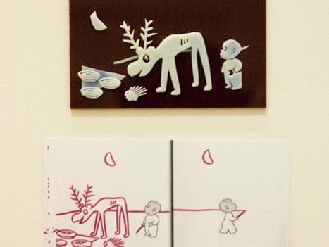 Crianças cegas testam projeto de livros com Ilustrações em 3D | Evolução da Leitura Online | Scoop.it