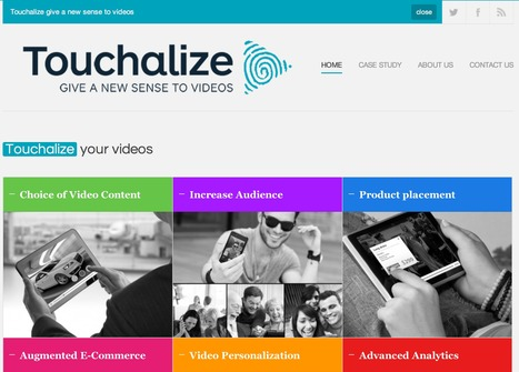 Touchalize - Give a new sense to videos | Emerging Digital Workflows [ @zbutcher ] | Scoop.it