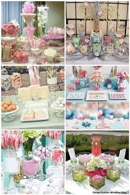Things Festive Wedding Blog: Pastel Candy Buffets - Great Year 'Round | Lifestyle | Scoop.it