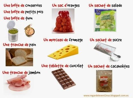 Acheter de la nourriture (1). Expressions de quantité ou de contenu | FLE enfants | Scoop.it