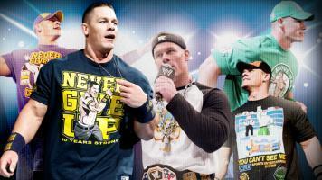 WWE.com: The history of John Cena's T-shirts | Tout sur la Mode | Scoop.it