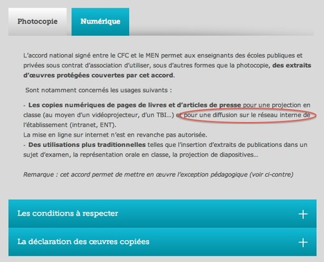 Centre Français d'exploitation du droit de copie | TELT | Scoop.it