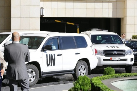 Weapons inspectors begin destroying Syrian chemical stockpile and machinery   Syrian Crisis   Scoop.it