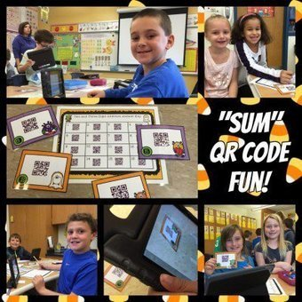 All You Need is Math, Halloween and a QR Code Reader! by Jamie Forshey | Math -e-matiques | Scoop.it
