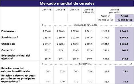 El índice de precios de los alimentos registra su mayor caída mensual desde 2008 y aumenta la producción de cereales en 2015, según @FAOnoticias | Canales Cortos de Comercialización de productos agroalimentarios | Scoop.it