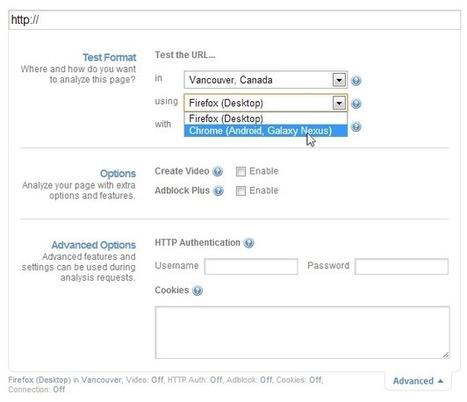 Nouveauté GT Metrix : tester les performances de son site sur mobile | E-business & Webmarketing | Scoop.it