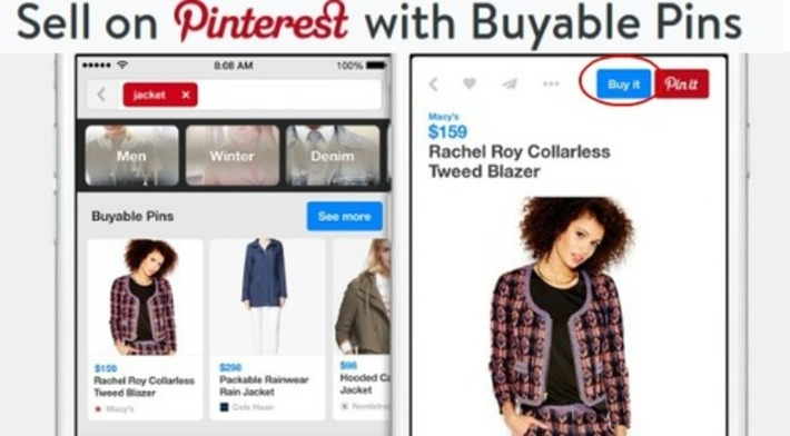 Pinterest Buyable Pins Ads Available to Online Sellers | | Best Pinterest Tips | Scoop.it