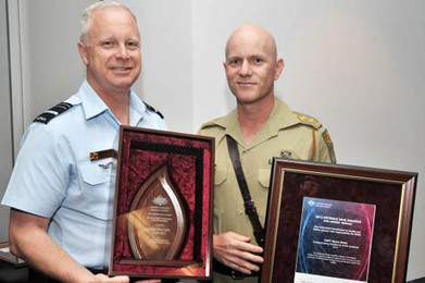 Captain Shane Sarlin winner of the 2012 Defence WHS awards - Australian Army | Quest 1 OHS and Me | Scoop.it