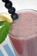Vegan Recipes - Banana Blueberry Smoothie | Healthy Eating - Recipes, Food News | Scoop.it