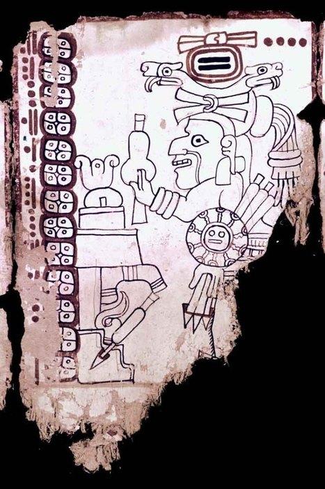 El Códice Grolier el manuscrito nativo más antiguo del Nuevo Mundo | Arqueología, Historia Antigua y Medieval - Archeology, Ancient and Medieval History byTerrae Antiqvae | Scoop.it