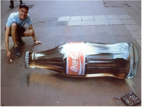 Awesome Examples Of Chalk Illusion | Grassroots Advertising Inc. | Interests | Scoop.it