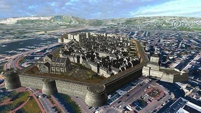 Je suis un piéton à Cherbourg, en 1650 [vidéo] - ouest-france.fr | GenealoNet | Scoop.it