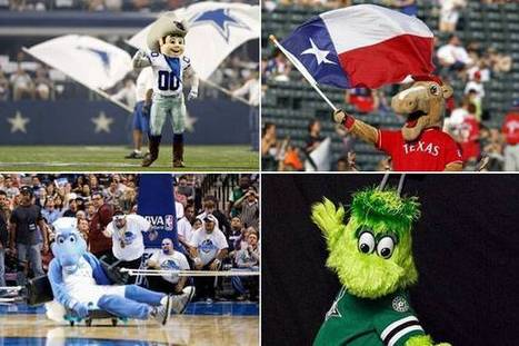 Where does new Stars mascot Victor E. Green rank? Vote for your favorite ... - Dallas Morning News | Mascots in the news | Scoop.it