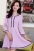 Sweet 3/4 Sleeve A-line Dress - OASAP.com | Oasap street fashion | Scoop.it
