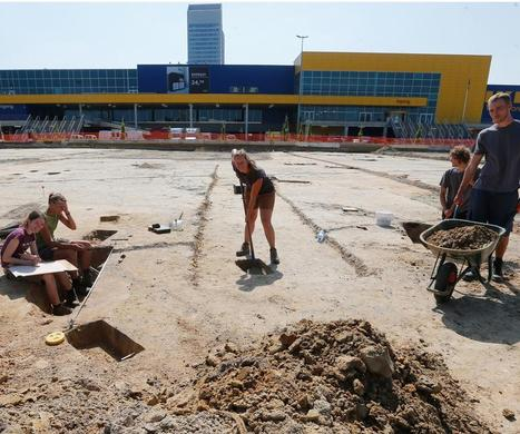 Archeologen palmen parkeerterrein Ikea in - De Standaard | KAP-De Schouwer T | Scoop.it