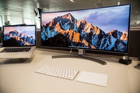 Test de l'écran 34″ Thunderbolt de LG, la démesure au service de la productivité | Belgium-iPhone | Gadgets - Hightech | Scoop.it