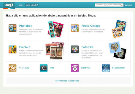 Muzy: blogs creativos para el aula | TICs+Educación | Scoop.it