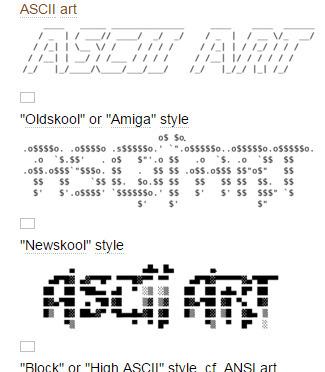 ASCII art - Academic.ru Wiki | ASCII Art | Scoop.it