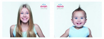 Baby & me d'Evian, le succès d'une publicité vidéo | Fêtes Gourmandes | Scoop.it