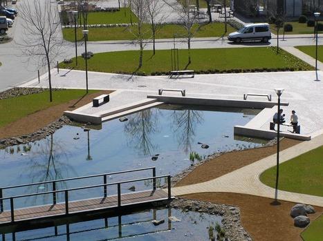 Graphisoft Park – Central Park Landscape / Garten Studio   Designalmic   Designalmic   Scoop.it