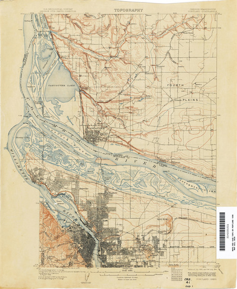topo portland-1896 | PDX water maps and messes | Scoop.it