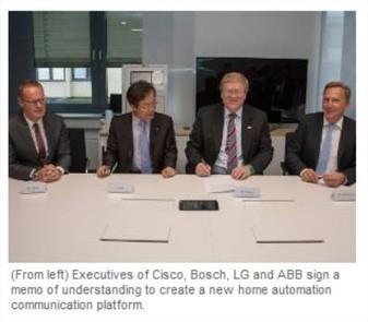 ABB, Bosch, Cisco et LG s'unissent pour un standard domotique commun   Domosens   Scoop.it