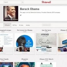 President Obama Joins Pinterest | Marketing on social platforms | Scoop.it