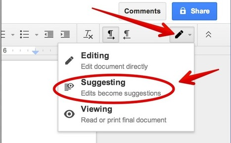 An Excellent New Feature for Google Docs ~ Educational ... | PLN's and Social Network Learning | Scoop.it