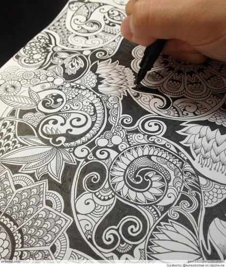 Zentangle Patterns & Ideas | Zen | Scoop.it