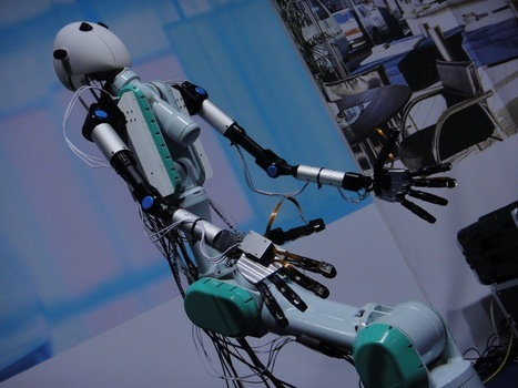 Groundbreaking Virtual Robotics Allow Us Our Very Own Robot Avatar | Futuristic Intelligent Robotics | Scoop.it