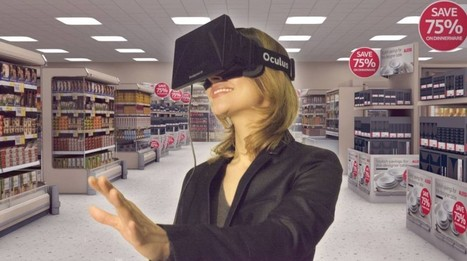 Virtual reality experience created for supermarket website | augmented reality examples | Scoop.it