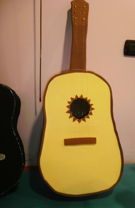 Guitarra de Foami   Mano a Mano con Cari   Goma...