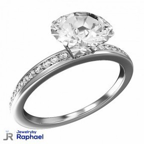 2.00 Carat 14K Diamond Engagement Ring D Color Certified ALL Sizes Available WOW | jewelrybyraphael | Scoop.it