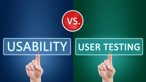 User Experience Smackdown: Usability Testing Vs. User Testing | UXploration | Scoop.it